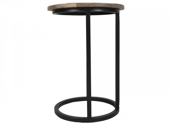 Home67 Laptoptafel Roos rond